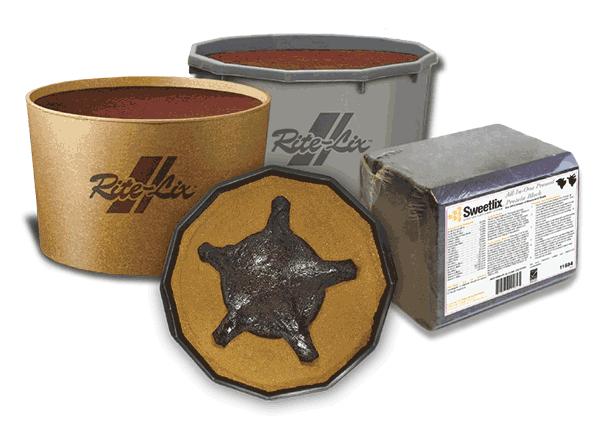 RiteLix & SweetLix Products graphic