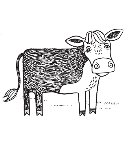 Download Cow Drawing