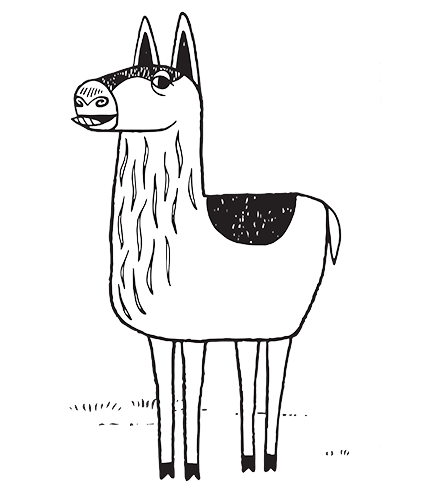 Download Llama Drawing