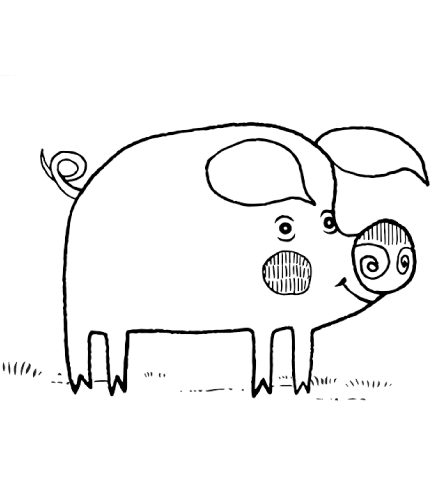 Download Pig Drawing